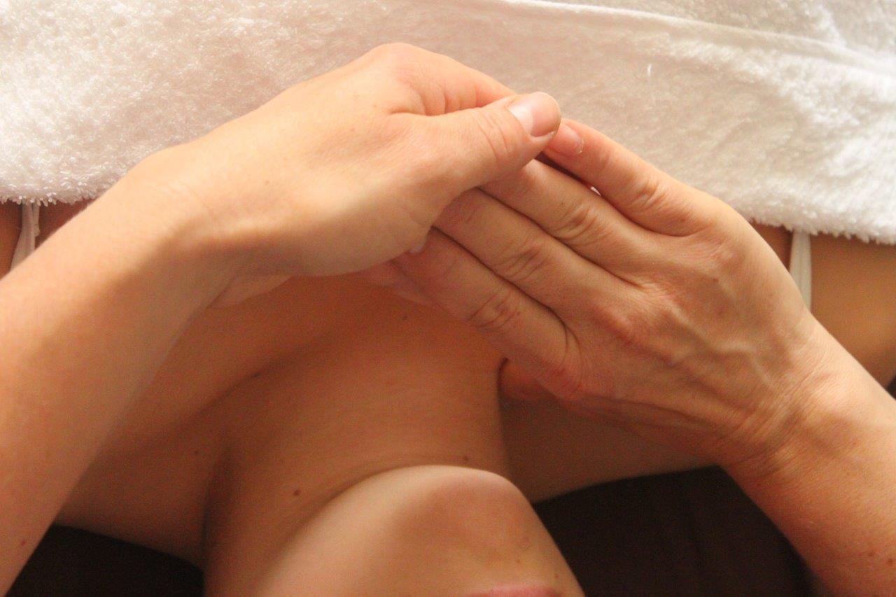 Behandlung des Nacken